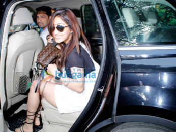 Yami Gautam snapped post salon session at B'Blunt