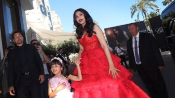 Aishwarya Rai Bachchan took her daughter Aaradhya Bachchan as her date to Cannes 2017-2