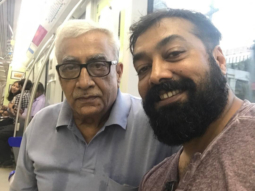Anurag Kashyap takes a metro for the first time with his father