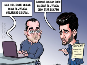 BollywoodToons Half Girlfriend dumped by critics!