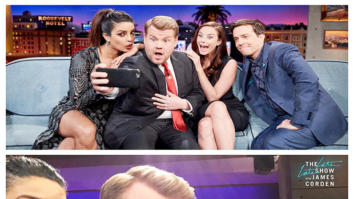 Check out Priyanka Chopra shows off her goofy side on James Corden's The Late Late Show  (1)