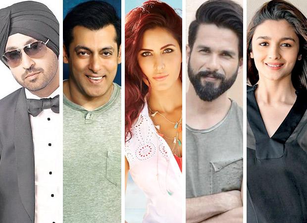 IIFA 2017 Diljit Dosanjh Salman Khan Katrina Kaif Shahid Kapoor And Alia Bhatt