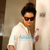 Kangna Ranaut snapped post visit to skin clinic in Bandra