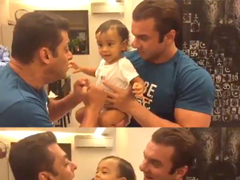 OMG! Salman Khan LOSES a boxing match with this kid!