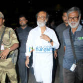Rajnikant arrives in Mumbai amidst heavy security