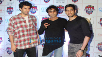 Ranbir Kapoor, Sidharth Malhotra and Aditya Roy Kapur snapped at all stars football team bash in Mumbai