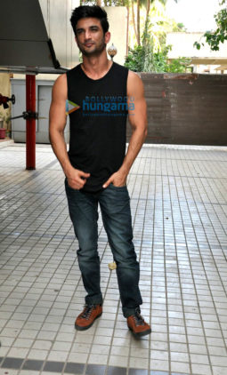 Sushant Singh Rajput snapped promoting his film 'Raabta'