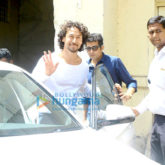 Tiger Shroff snapped at Filmistan