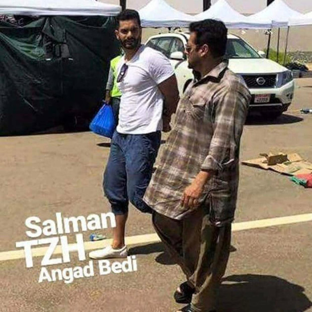 tiger zinda hai salman khan and angad bedi begin second schedule shoot in picturesque locales of