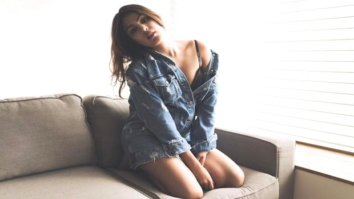 WOW! Rhea Chakraborty looks hot wearing just a blue denim shirt
