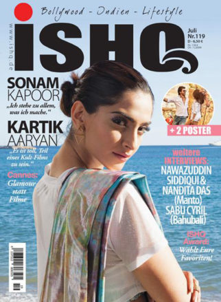 Check out Sonam Kapoor is a desi beauty on a German magazine cover