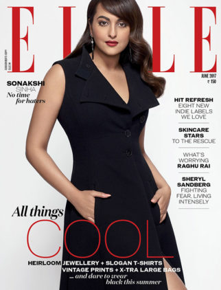 Sonakshi Sinha On The Cover Of Elle
