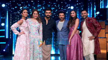 Film promotions of 'Jagga Jasoos' and 'Mubarakan' on the sets of 'Nach Baliye'