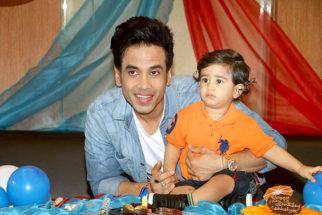 PHOTOS Tusshar Kapoor celebrates son Laksshya Kapoor's first birthday1