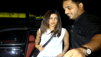 Priyanka Chopra & family snapped at the Hakkasan