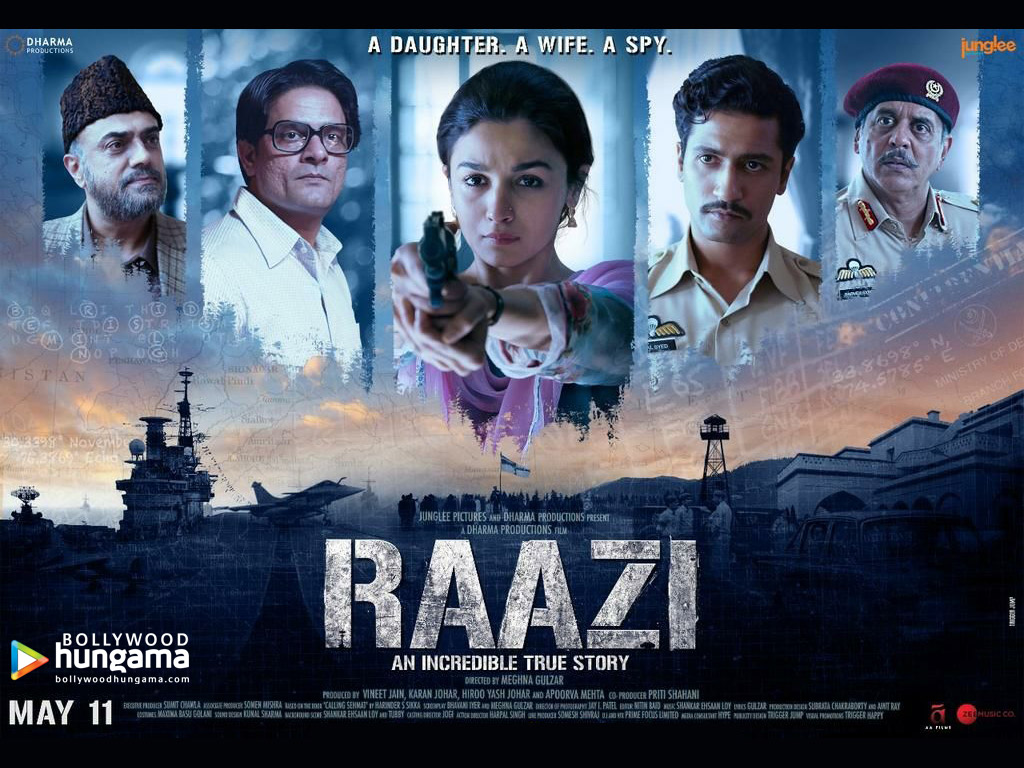 Movie Wallpaper Of The Movie Raazi