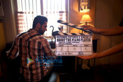 On The Sets Of The Movie Shoot The Piano Player