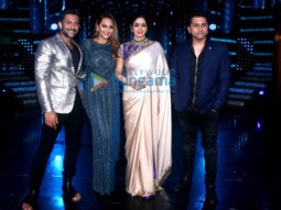 Sridevi and Diljit Dosanjh snapped on the sets of Nach Baliye 8