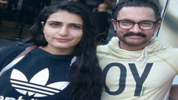 Thugs of Hindostan stars Aamir Khan, Amitabh Bachchan and Fatima Sana Shaikh go out for a movie