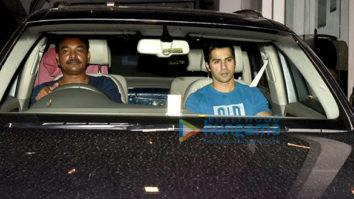 Varun Dhawan snapped post gym in Bandra