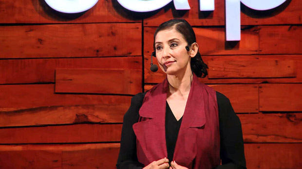 Watch Manisha Koirala gives a moving speech talking about her life in films, failed relationships, surviving cancer and more at TED Talks Jaipur