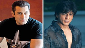 Watch Salman Khan's hilarious reaction when Shah Rukh Khan puts him on babysitting duty