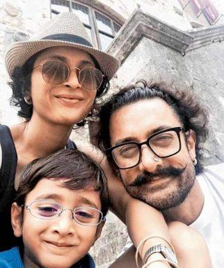 Aamir Khan takes a family trip1