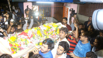 Actor Inder Kumar's last rites