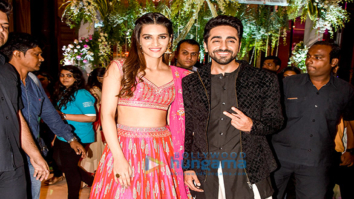 Ayushmann Khurrana and Kriti Sanon gatecrash a wedding to promote their film 'Bareilly Ki Barfi'