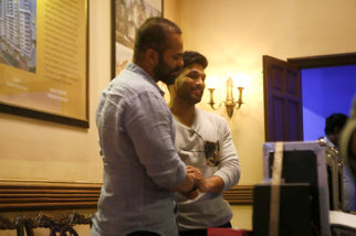 Check out Rohit Shetty and Golmaal Again stars meet Tollywood star Allu Arju1