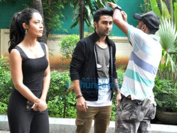 Debutants Aadar Jain and Anya Singh promote 'Qaidi Band'