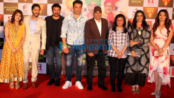 Dharmendra, Sunny Deol, Bobby Deol and Shreyas Talpade launch the trailer of 'Poster Boys'