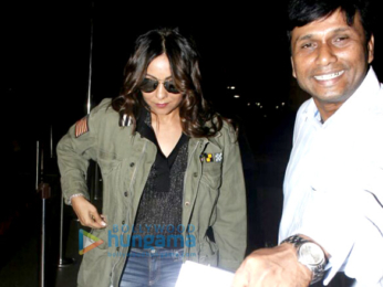 Gauri Khan departs for London