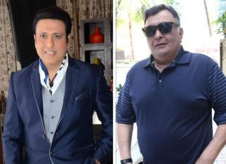 Govinda thanks Rishi Kapoor for showing concern over his Jagga Jasoos bad experience