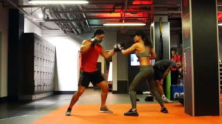 HOT! Amy Jackson boxing workout will definitely give you fitness goals
