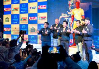 Kamal Haasan graces the launch of Sachin Tendulkar's Pro Kabbadi league team Tamil Thalaivas