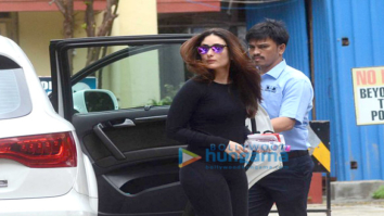 Kareena Kapoor Khan snapped at her gym