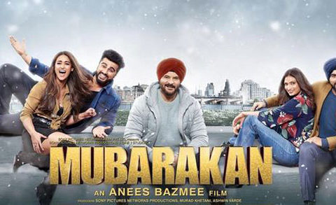First Look Of The Movie Mubarakan