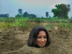 SHOCKING Divya Dutta buried neck-deep in mud for 3 hours for Babumoshai Bandookbaaz