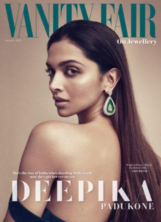 Deepika Padukone On The Cover Of Vanity Fair