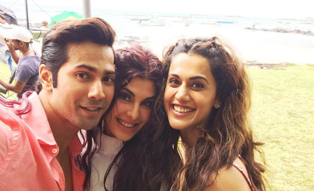 varun tapsee and jacqueline enjoying beautiful mauritius