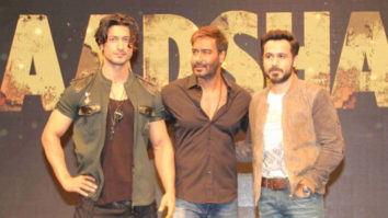 Ajay Devgn's Reaction On Doing Action Scenes With Vidyut Jammwal  Baadshaho Trailer Launch