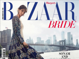 Sonam Kapoor On The Cover Of Bazaar Bride