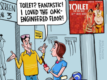 Bollywood Toons Akshay Kumar's Toilet surges in spite of mixed reviews