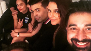 Check out Varun Dhawan, Aditi Rao Hydari, and Karan Johar at Neha Dhupia's birthday bash_01
