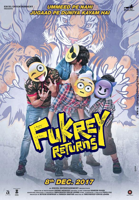 FUKREY RETURNS (2017) con PULKIT SHARMA + Jukebox + Sub. Español + Online  Fukrey-Returns-012