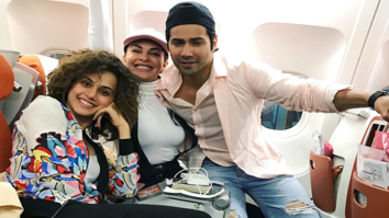 Here's how Varun Dhawan and Jacqueline Fernandez made their Judwaa 2 co-star Taapsee Pannu's birthday special