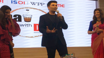 Karan Johar has a chat session at Indian School of Design& Innovation-1