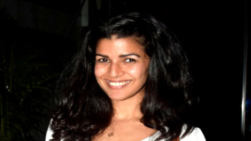 Nimrat Kaur snapped post dinner with friends in Juhu