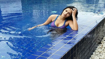 Sonali Raut sizzles in this image sporting a bikini in a pool